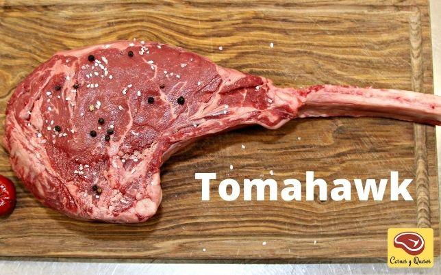 tomahawk carnes asado y parrilla