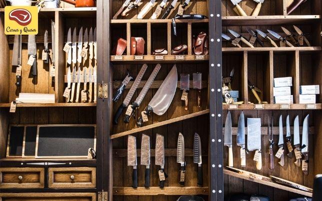herramientas y accesorios carnicerías vitrinas