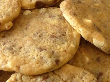 Cookies moelleux aux 2 chocolats