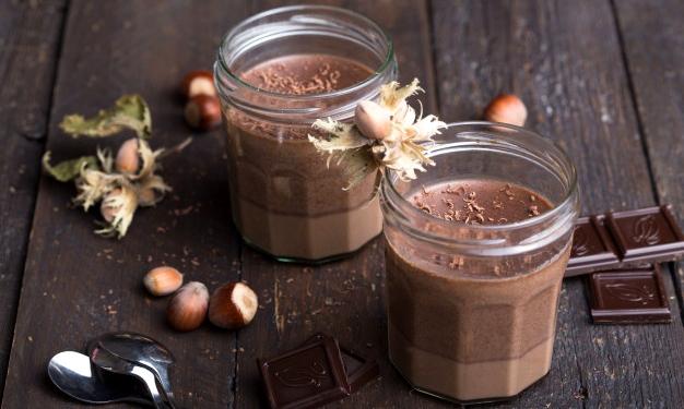 Mousse aux deux chocolats