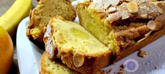 Cake rustique pommes bananes