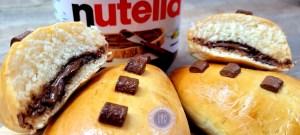 Recette des briochettes au Nutella