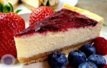 Recette du cheesecake aux fruits rouges