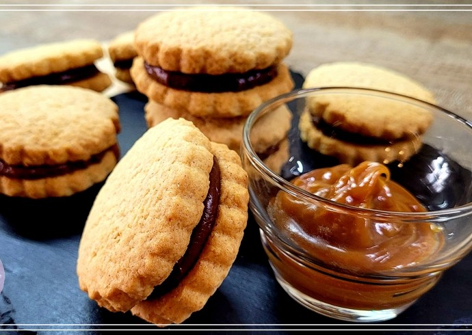 Recette des biscuits choco-caramel