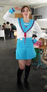 haruhi suzumiya cosplay 2010