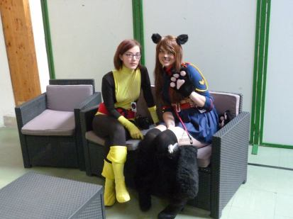 Cosplay X-Men avec Neko-Chan