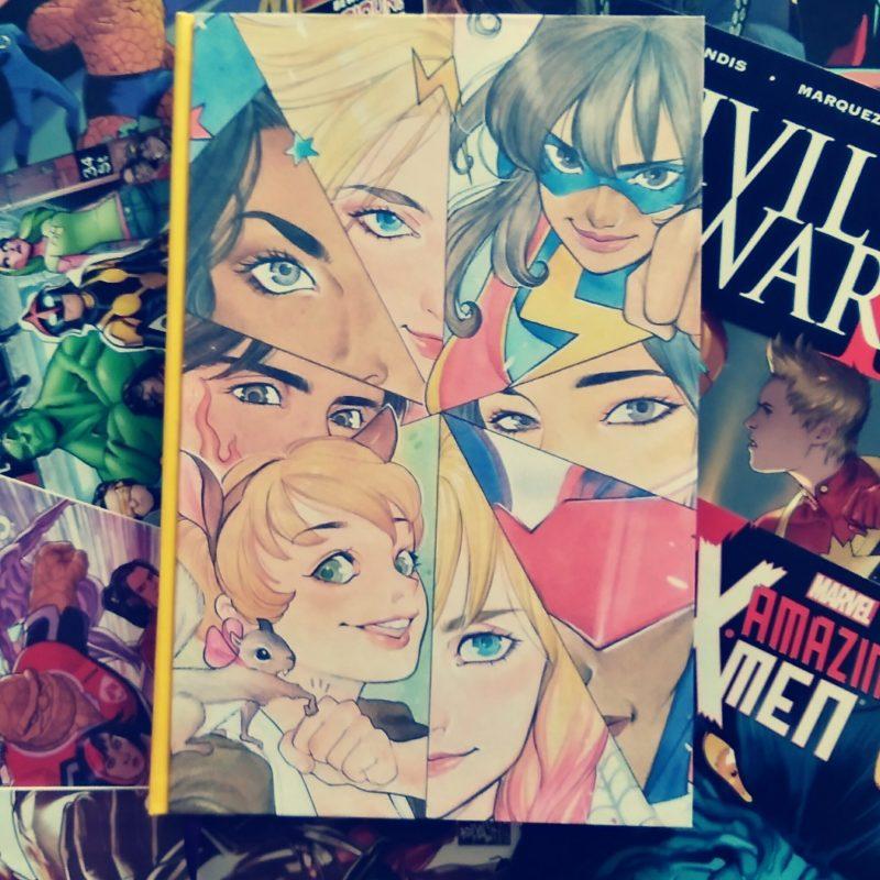 Le comics Marvel Rising, relié