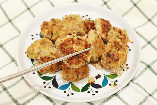 Cuisine Chuseok: donggeurangttaeng (boulette)