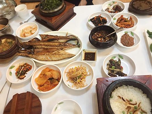restaurant à gangwon