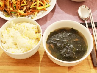 soupe d'algues