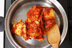 recette: ragoût de kimchi