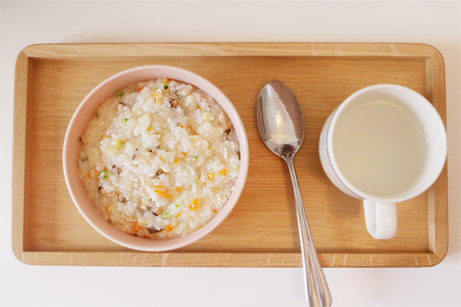 Cuisine coréenne: Porridge de légumes