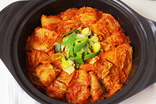 Cuisine coréenne: Kimchi jjim
