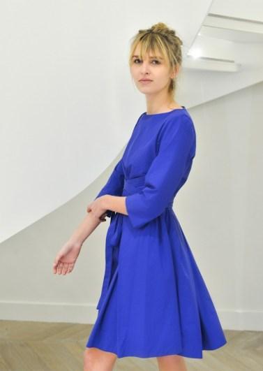 Robe Mia bleue @TaraJarmon