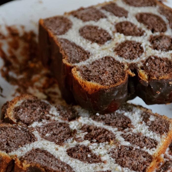 Cake Léopard, Vanille & Chocolat