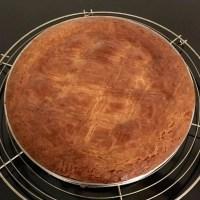 Un Gâteau Basque aux parfums d'Amandes, de Vanille & de Citron
