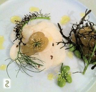 Salade radis noir, emadame, raisin et graines de lin http://wp.me/p389oa-a3