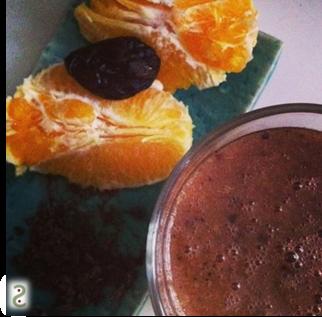 Smoothie orange-cacao cru http://wp.me/p389oa-U4