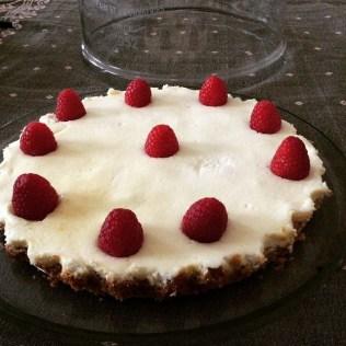Cheesecake sureau framboises http://wp.me/p389oa-1iv