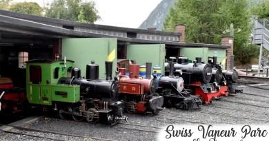 [SORTIES] Swiss Vapeur Parc – Le Bouveret (Suisse)