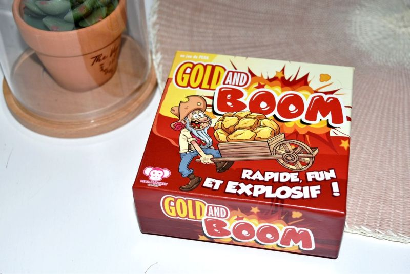 Gold and Boom Pink Monkey Games