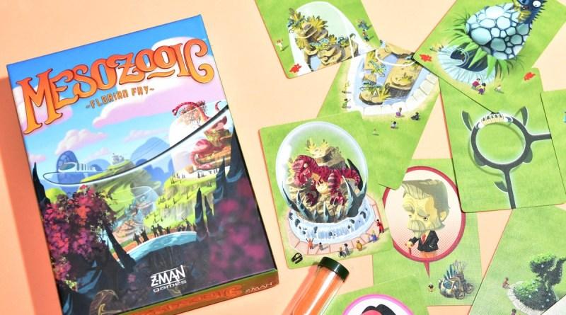 [J2S] Mesozooic – Z-Man Games & Asmodee