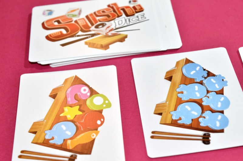 Sushi Dice Sit Down