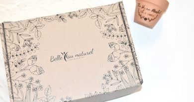 [UNBOXING] Belle au Naturel – La box beauté 100% Bio !
