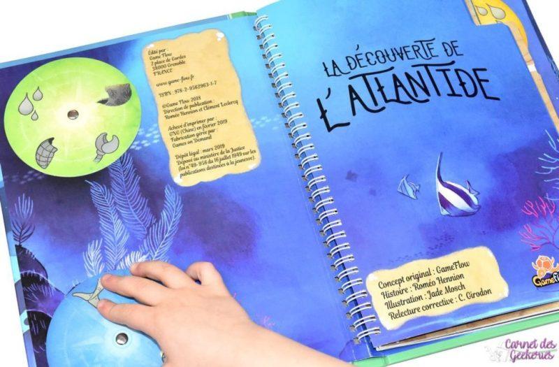 A la découverte de l'Atlantide - GameFlow