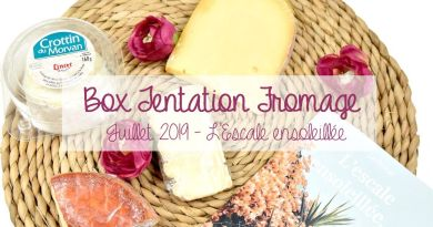 [FOOD] Tentation fromage, la box gourmande !