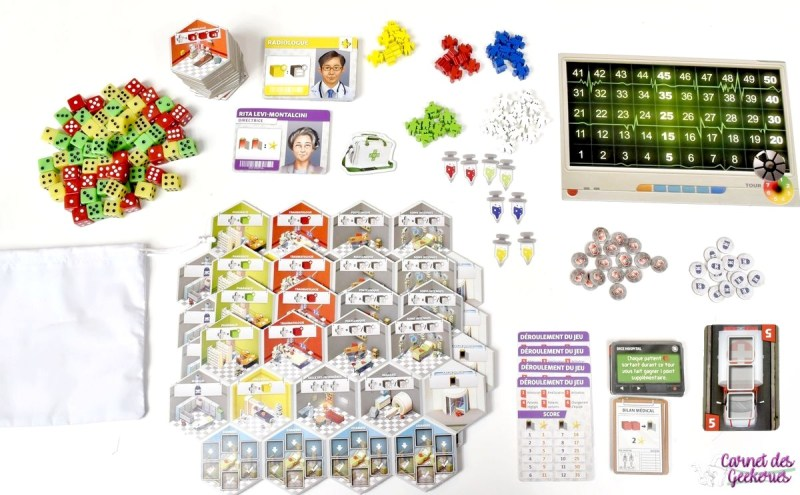 Dice Hospital - Extension Deluxe - Super Meeple