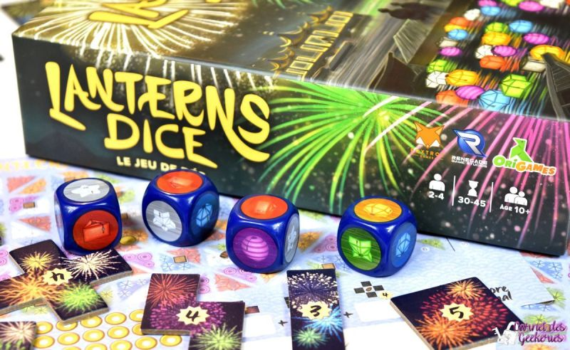 Lanterns Dice - Origames Renegade