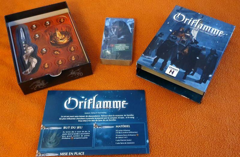 Oriflamme - Studio H