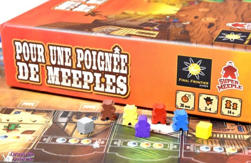 Pour une poignée de Meeples - Super Meeple