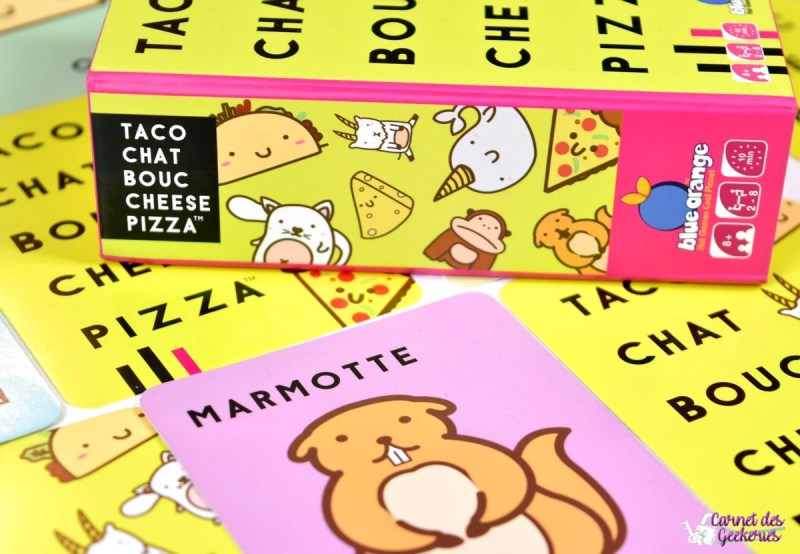 Taco Chat Bouc Cheese Pizza - Blue Orange