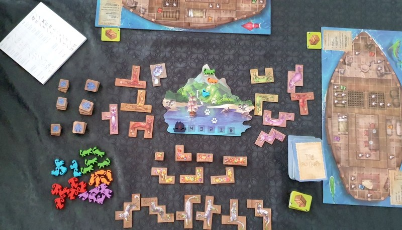 L'Île aux Chats - Lucky Duck Games