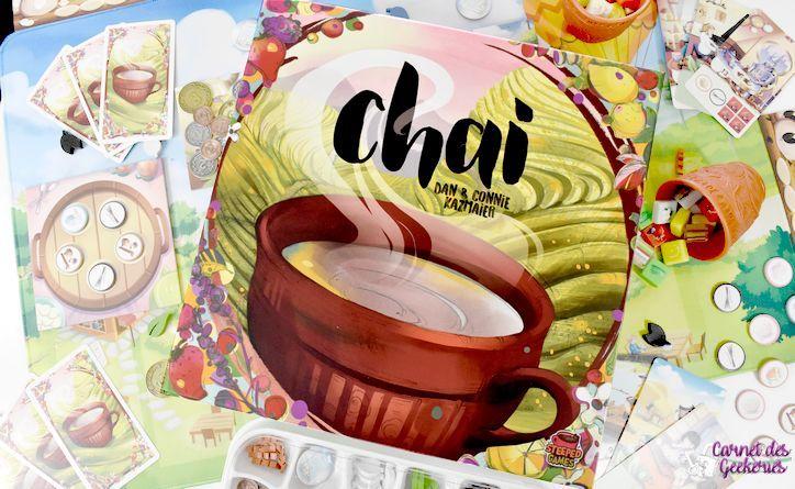 Chai [Kickstarter] – Test et avis – Steeped Games
