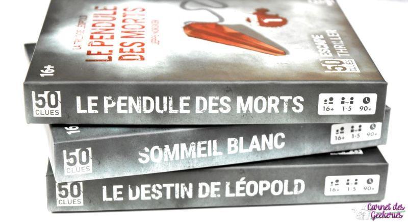 50 Clues - La Trilogie Léopold - Le Pendule des Morts - Blackrock Games50 Clues - La Trilogie Léopold - Le Pendule des Morts - Blackrock Games
