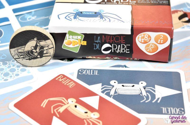 La Marche du Crabe - Jeux Opla