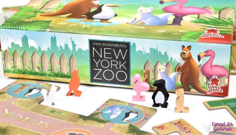 New York Zoo - Super Meeple