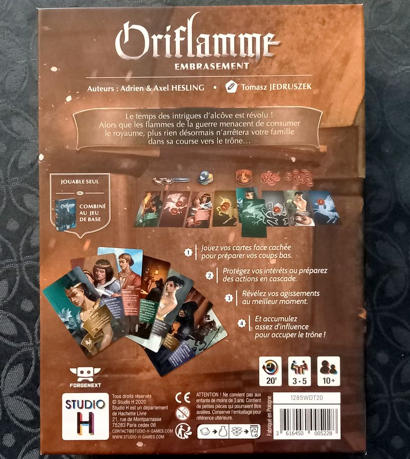 Oriflamme Embrasement - Studio H