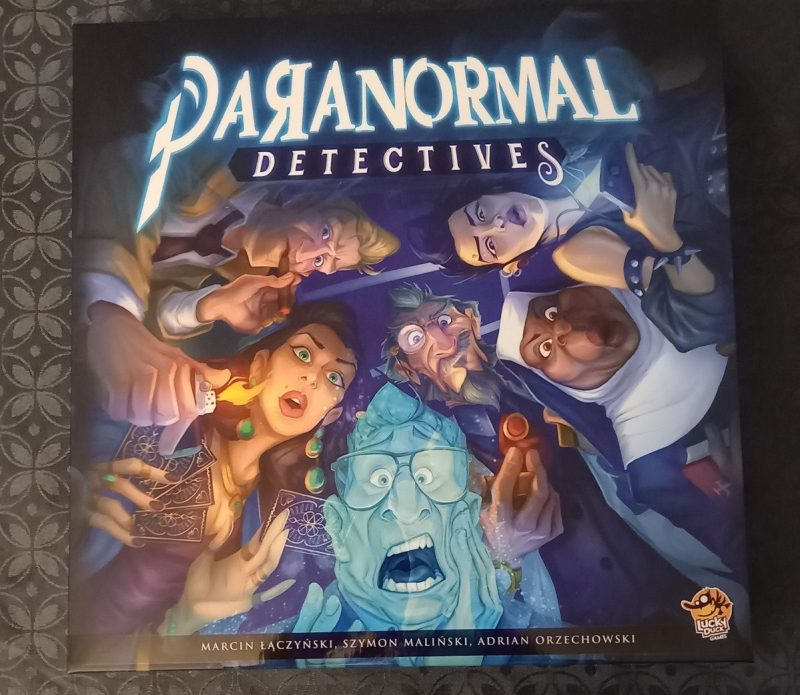 Paranormal Detectives Lucky Duck Games