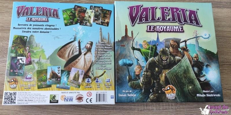 Valeria Le Royaume Lucky Duck Games