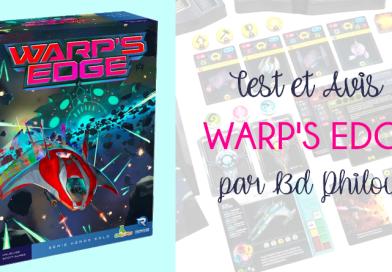 Warp's Edge – L'avis de BDPhilou – Origames Renegade