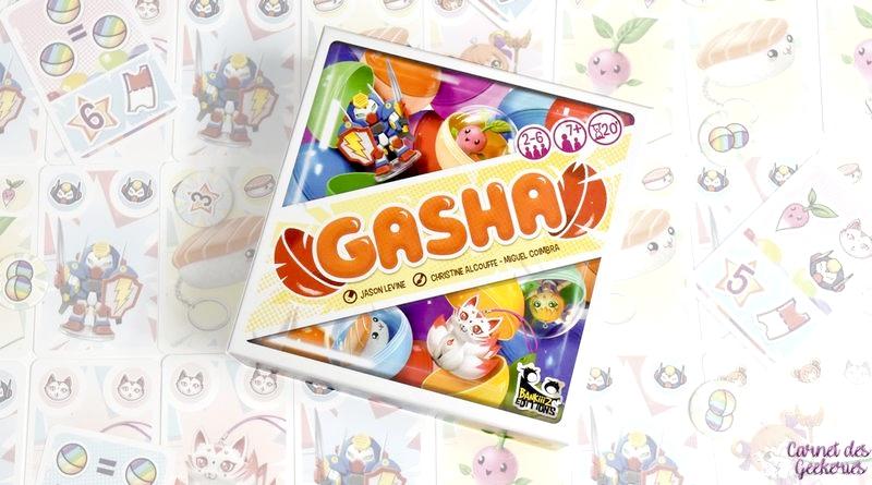 Gasha – Test et Avis – Bankiiiz Editions