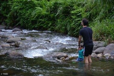 Petit bain à la Rivière Blanche de Coeur Bouliki