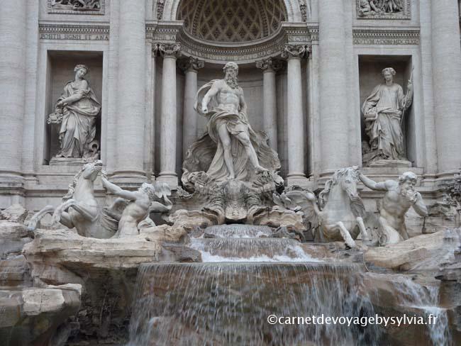 Comment accéder à la fontaine de Trevi (Rome)?