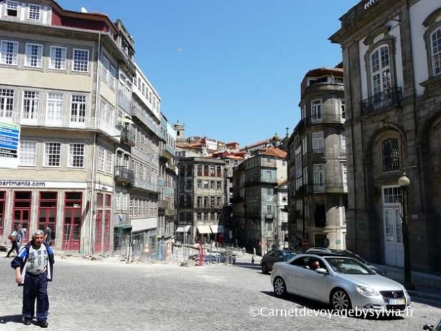façade du vieux Porto