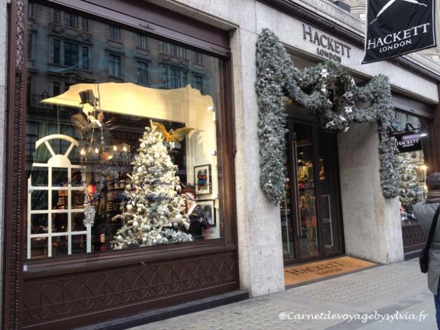 voyage à Londres - shopping