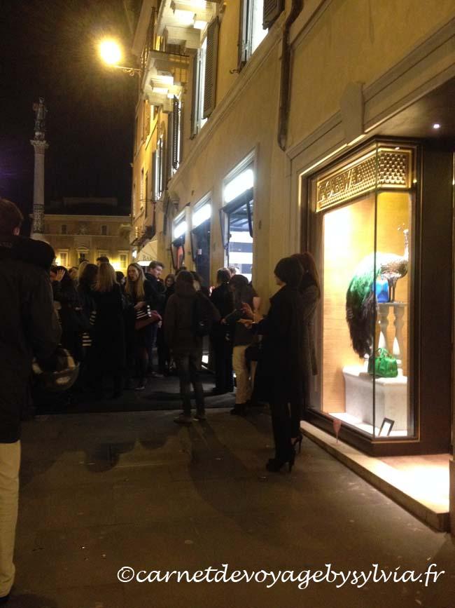 shopping Rome